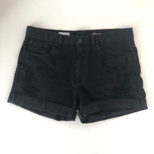Gap sexy boyfriend shorts 28 - distressed cutofffs